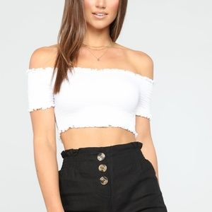 FASHION NOVA Make Way Crop Top